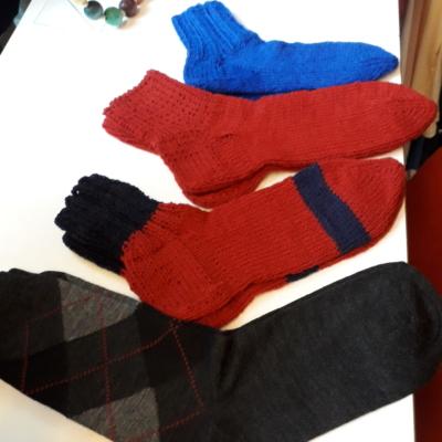Warme Socken im Alpaka Wolle im veschiedene Grössen !