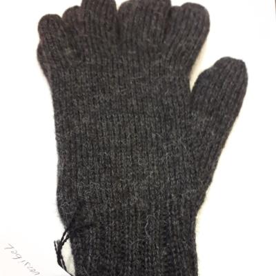 Handschuhe,antrazit/schwarz,100%baby alpaka,verschiedene Grösse!!!