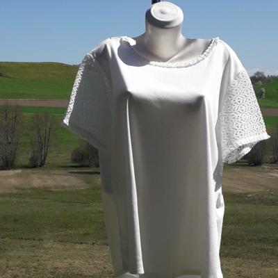 NEUE! Weiss passt zu Alle farben praktisch zu kombinieren ,aus 100%pima Baumwolle.59.90Fr.